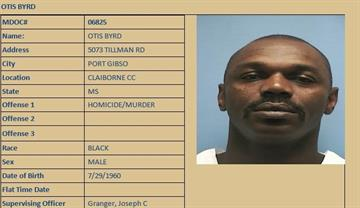 Otis Byrd criminal record. Lived in Port Gibson