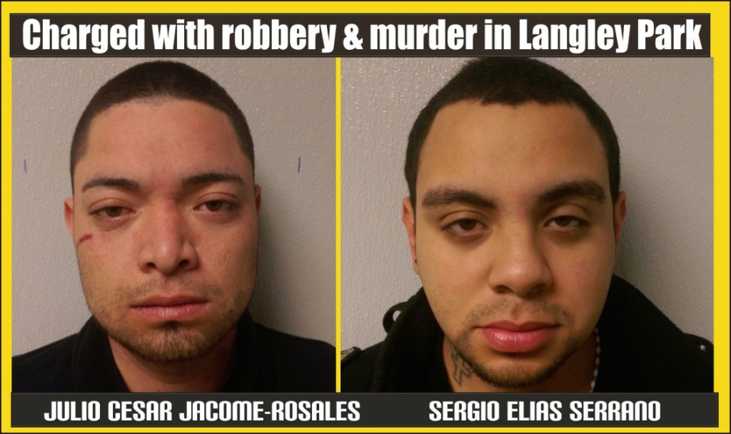 Charged with robbery and murder in Langley Park
