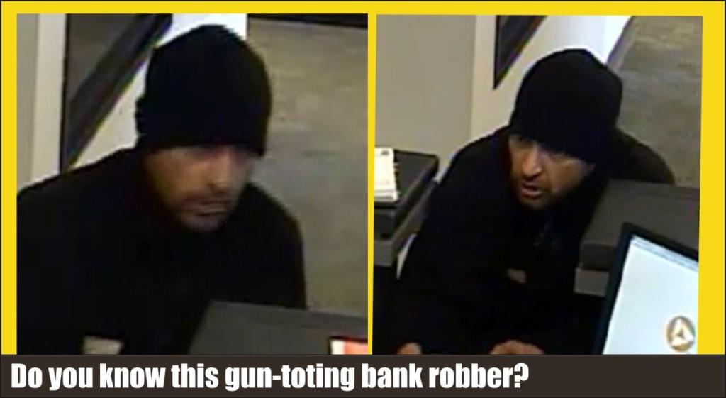 PNC Bank armed bank robber Milford Del 040215