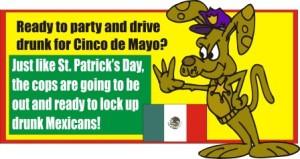 Cinco de Mayo drunk driving efforts