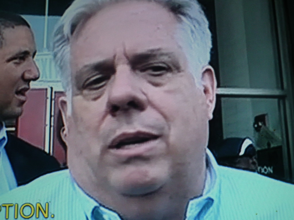 Governor Larry Hogan in Baltimore