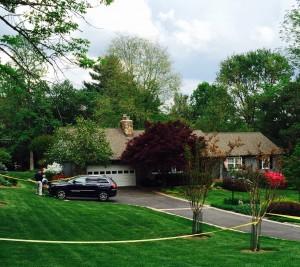 Rockville murder scene