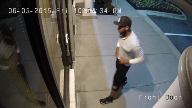 Baltimore burglar eyeballs his target.   Do you know this felonious felon?  Turn him in for cash!