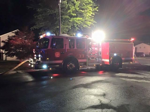 Charles County housefire