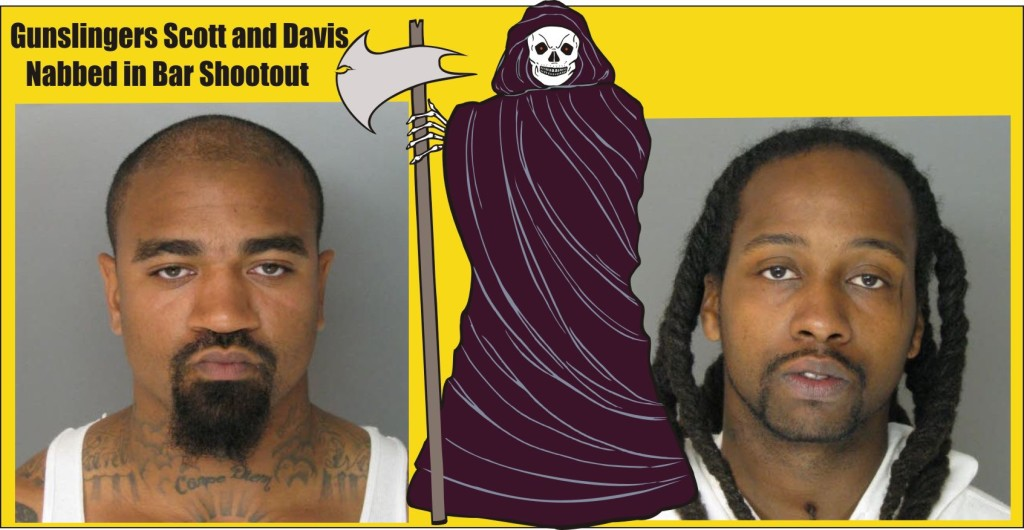 Scott and Davis charged in bar shooting