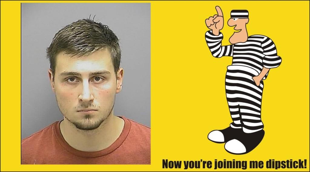 Tanner Castelin heroin arrest Frederick Md PD