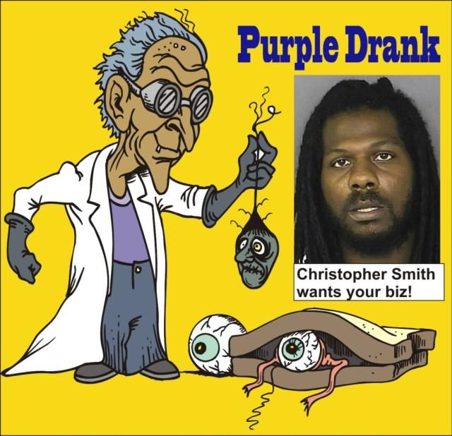Christopher Smith Purple Drank Arrest