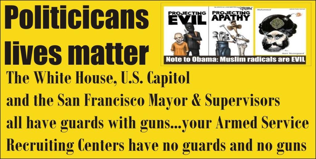 Politicians lives matter