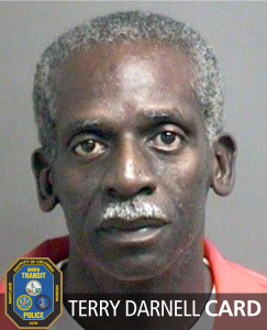 Terry Darnell Card charged with cutting out catalytic converters from cars in Metro garages in Huntington and Branch Ave