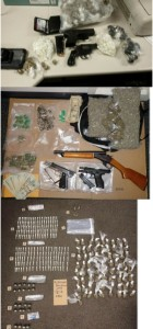 Drugs seized by Baltimore Police along with AACP