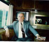 Another of Maryland's colorful Governor's was William Donald Schaefer who traveled the state on an official bus that served as his office on the road.  THE CHESAPEAKE TODAY photo