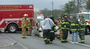 1050 PI at Rt. 235 St. John 3 car Leon & hollywood VFD
