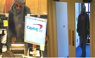 Capitol One bank robber PG County 122315