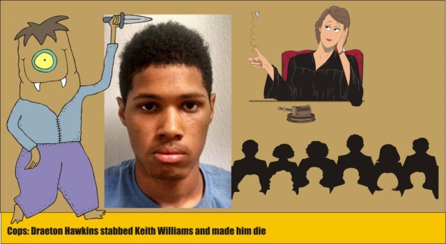 Draeton Hawkins charged with murder of Keith Williams