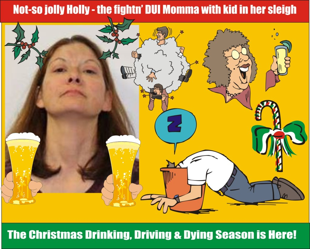 Not so jolly Holly DUI in Wicomico Co Md with kid in her car