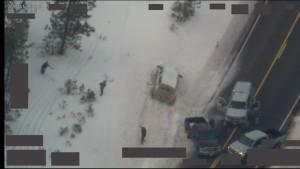 FBI Oregon State Police roadblock of Robert LaVoy Finicum