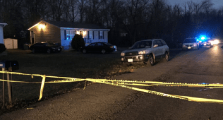 Waldorf murder scene on Jan. 12 2016 Photo courtesy NBC 4