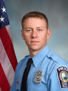 Prince William County Police Officer Jesse Hempen. The second officer wounded in murder spree by Ronald Hamilton in Woodbridge, Va.