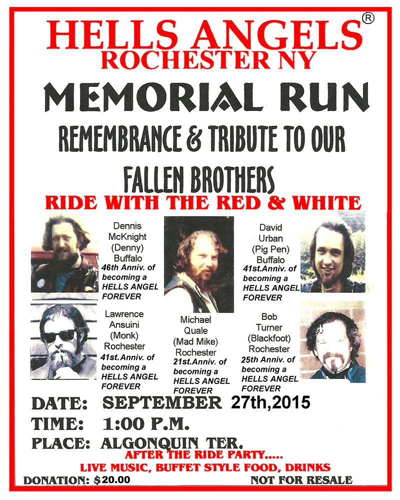 Hells Angels 2015-MEMORIAL-RUN-FLYER