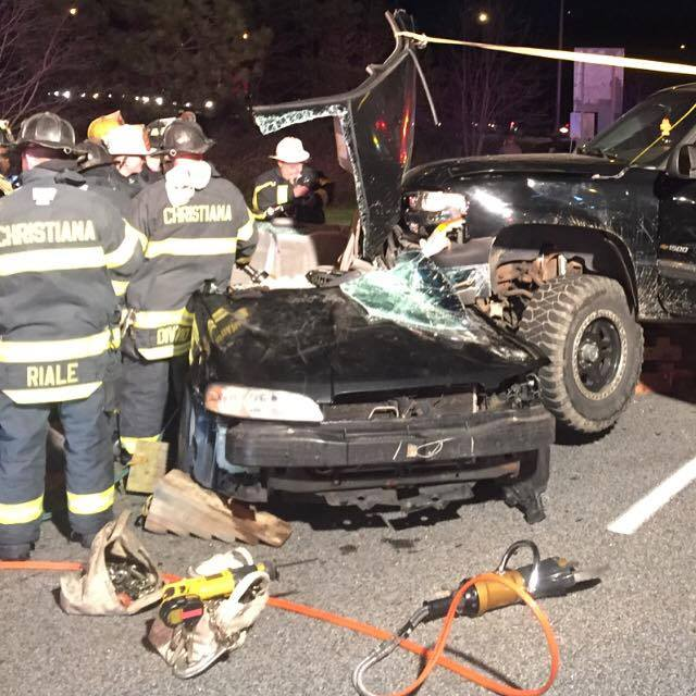 Bartow charged in fatal DUI crash in Bear, Del. Photo courtesy of Christiana Fire