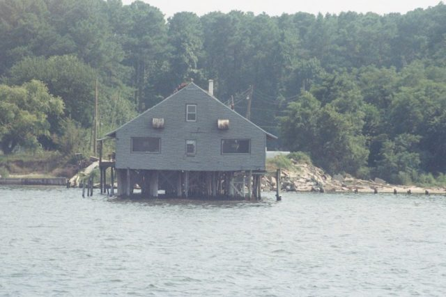 Coles Point Tavern located in St. Mary's County, Md. at the Virginia shoreline. THE CHESAPEAKE TODAY photo