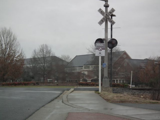 The Eastern Shore Railroad has changed hands many times and runs from Cape Charles to Wilmington, Del., with freight service. Efforts to bring back passenger service appear from time to time, with proposals such as a Dinner Train. This is the entrance to the University of Maryland Eastern Shore campus. THE CHESAPEAKE TODAY photo