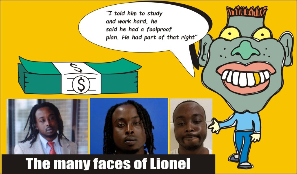 the many faces of lionel