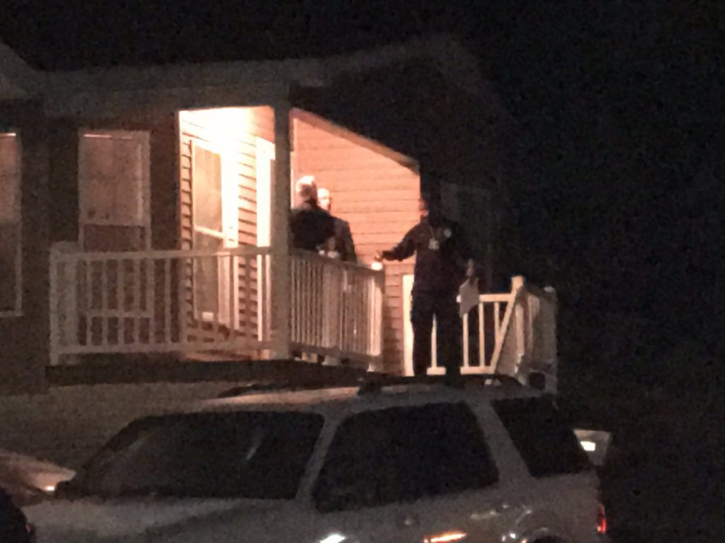 Murder-scene-at-Largo-mobile-home-park-where-Jodi-Henry-was-murdered-by-girlfriend-of-ex-lover. Photo courtesy of WJLA