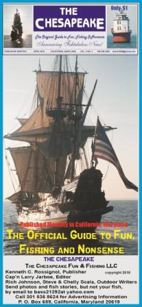 The Kalmar Nyckel sailing down the Potomac. The Chesapeake photo
