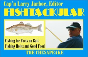 Fishtackular Fishing Advise by Cap'n Larry Jarboe  THE CHESAPEAKE