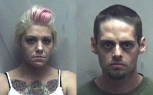 Brandi Marple, 28, of Frederick County, Va., and Dennis K. Getz, 37, of Frederick County, Va