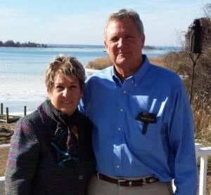 """St. Mary's Commissioner Francy Eagan endorses Bryan """"Puff"""" Barthelme for House of Delegates and serves as Honorary Chair of his campaign."""