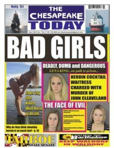 The Chesapeake Today front page promo April 2014