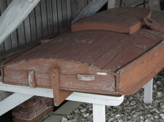 The sink box designed for a low profile for a hunter.  THE CHESAPEAKE TODAY photo