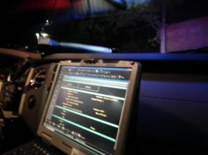 Patrol car computer St. Mary's Sheriff