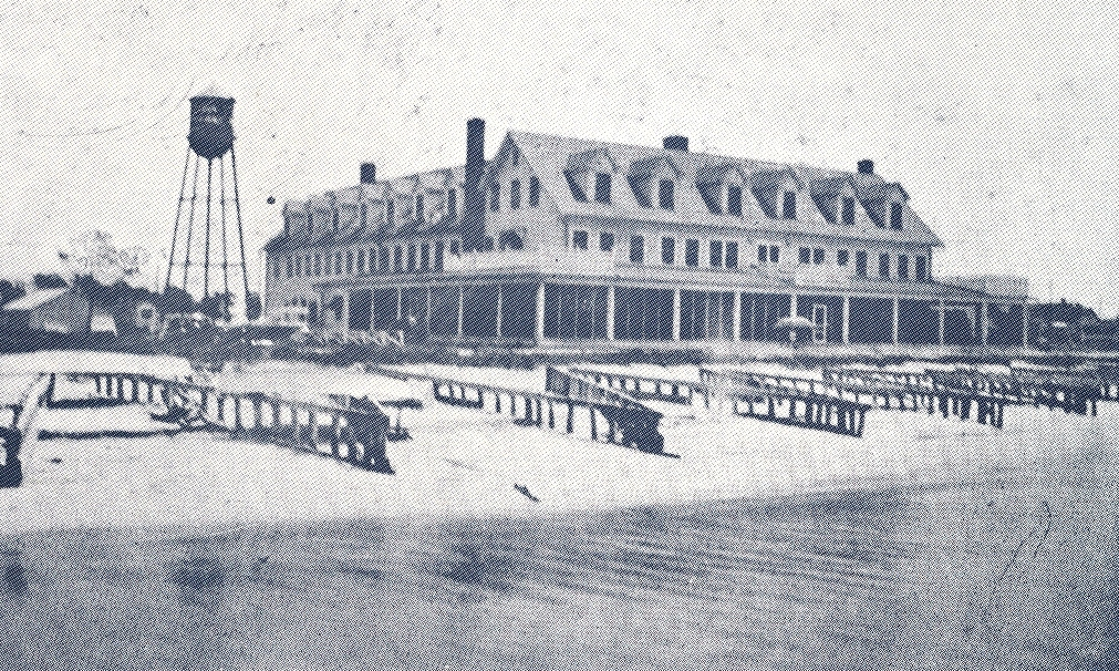 Alan Brylawski was the last operator of the Point Lookout Hotel on the Chesapeake Bay.
