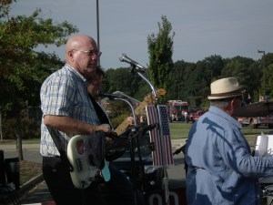 Cap'n Larry Jarboe at home pickin either gitars or crabs.  THE CHESAPEAKE TODAY  photo