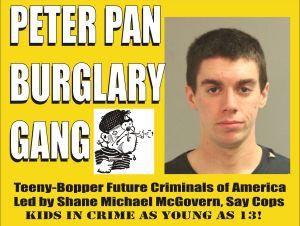 Peter Pan Burglary Gang
