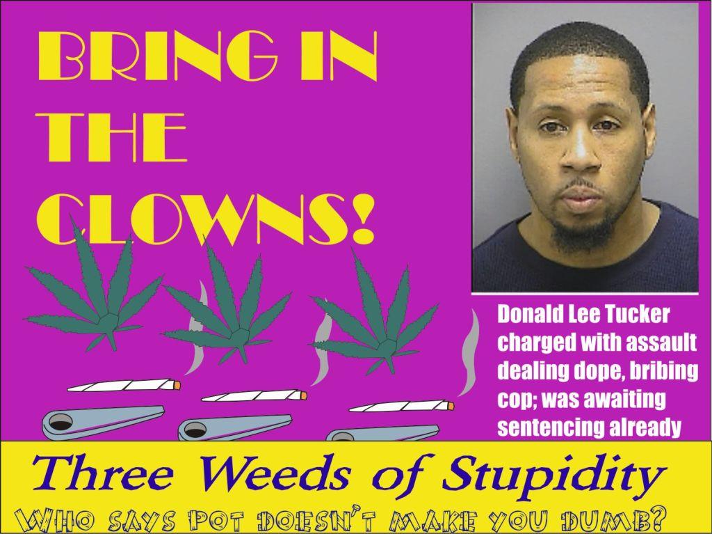 Donald Lee Tucker drug dealing assault and bribing cop Fred Md 012915
