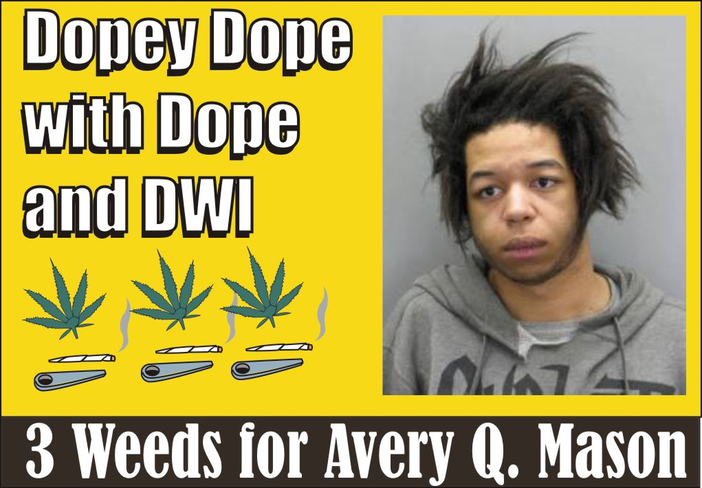 Dopey Dope with Dope & DWI in Fairfax Co Va