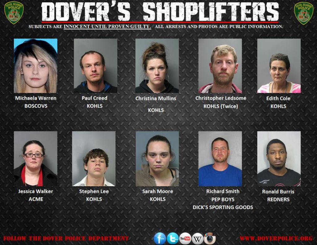Dovers Shoplifters 021915