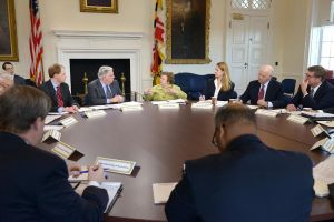 Gov. Larry Hogan and the Knuts of the Round Table