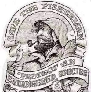 """Ronald Lee Hall Jr. has this sketch posted on his Facebook page. The oyster sanctuaries are supposed to """"Save the Fisherman"""" but some watermen claim they are just 'oyster cemeteries' and pat each other on their backs on their Facebook postings. If they are truly oyster cemeteries, why are these guys raiding them and risking their commercial fishing licenses? Could they possibly be that dumb or is there truly 'white gold' in the oyster sanctuary?"""