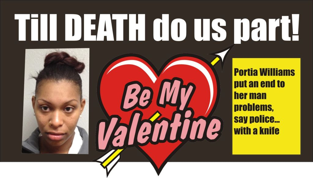 till Death do us part Portia Williams