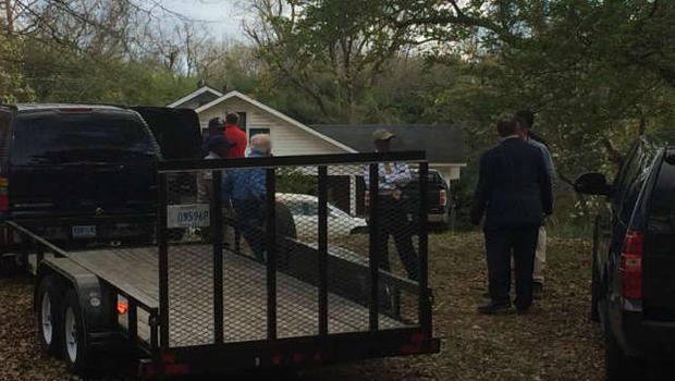 Investigators on scene in Claiborne Miss WJTV CBS