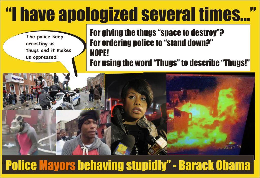 Mayors behaving stupidly