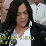 Baltimore City States Attorney Marilyn Mosby announces charges against officers.