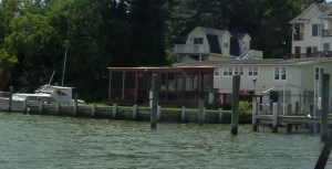 Harborview on Coombs Creek near Breton Bay was the site where Governor Marvin Mandel died at the end of a summer weekend spent with his grandchildren and son Paul Dorsey. THE CHESAPEAKE TODAY photo