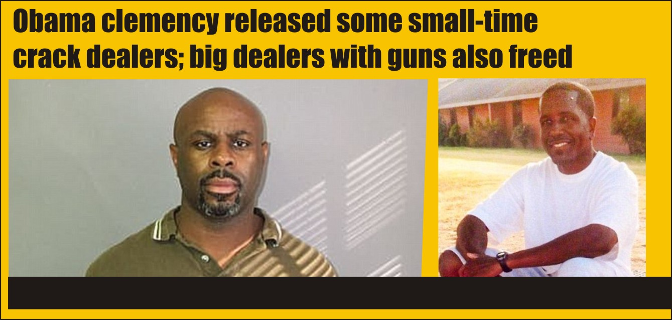 Obama freed small fry and big wheels in clemency actions   THE