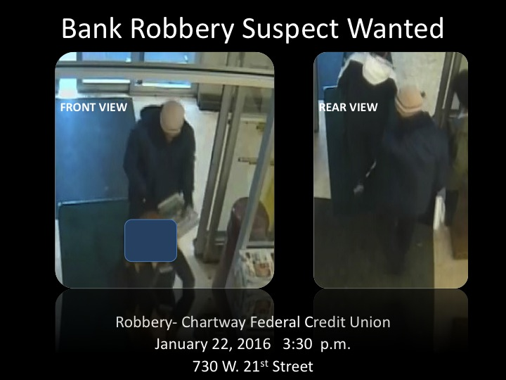 Chartway Bank Robbery